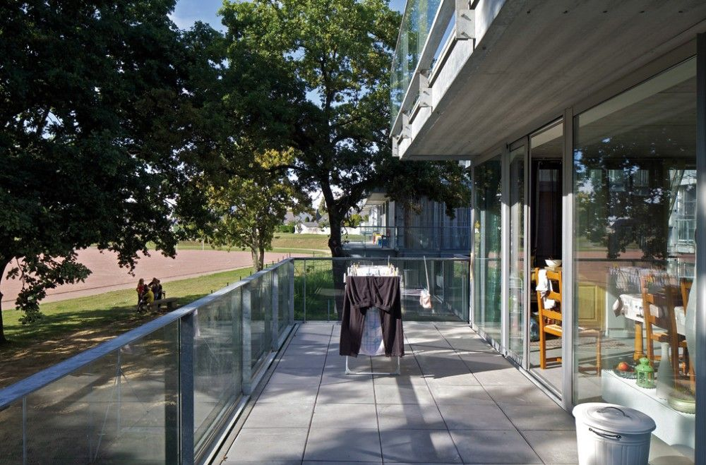 23 Semi-collective Housing Units / Lacaton & Vassal