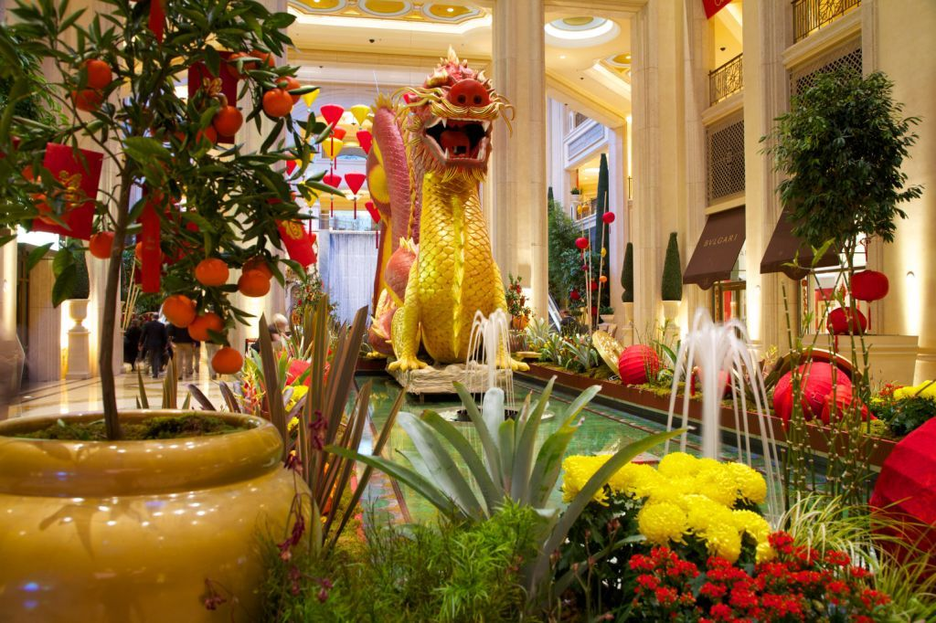 Chinese New Year celebrations in Vegas Palazzo las vegas