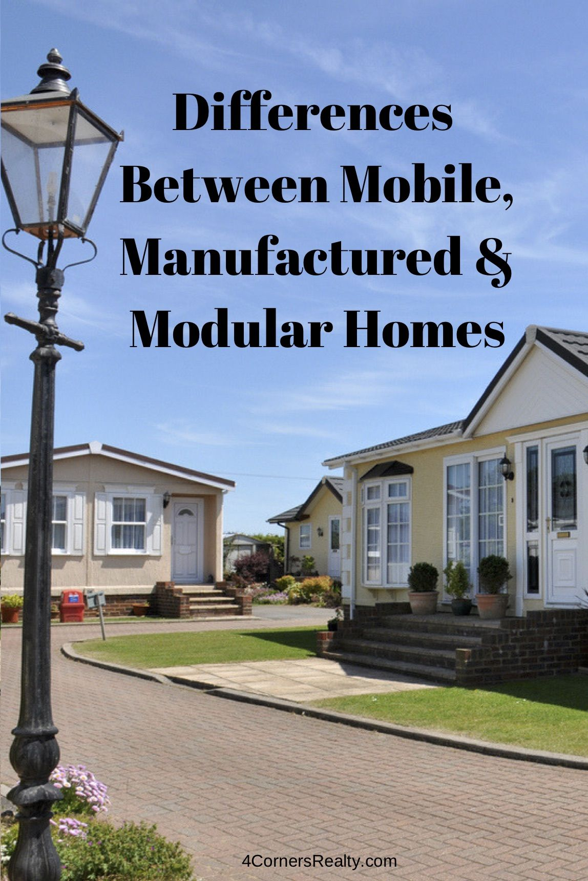 As A Real Estate Agent I Often Get Asked What S The Difference Between A Mobile Home A Manufactured Home And A Modul Modular Homes Modular Manufactured Home