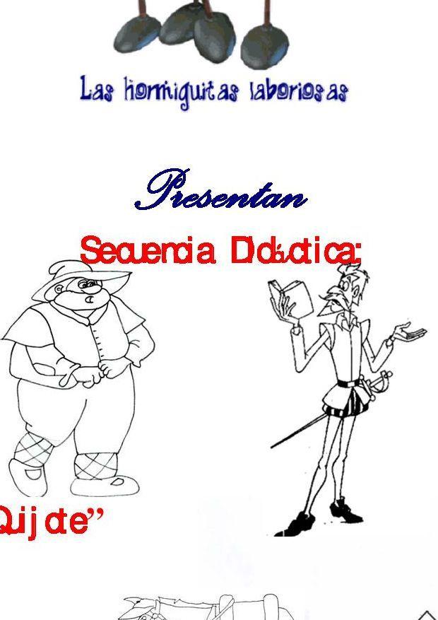 Secuencia Didáctica El Quijote El Quijote Para Niños Secuencia Didactica Don Quijote