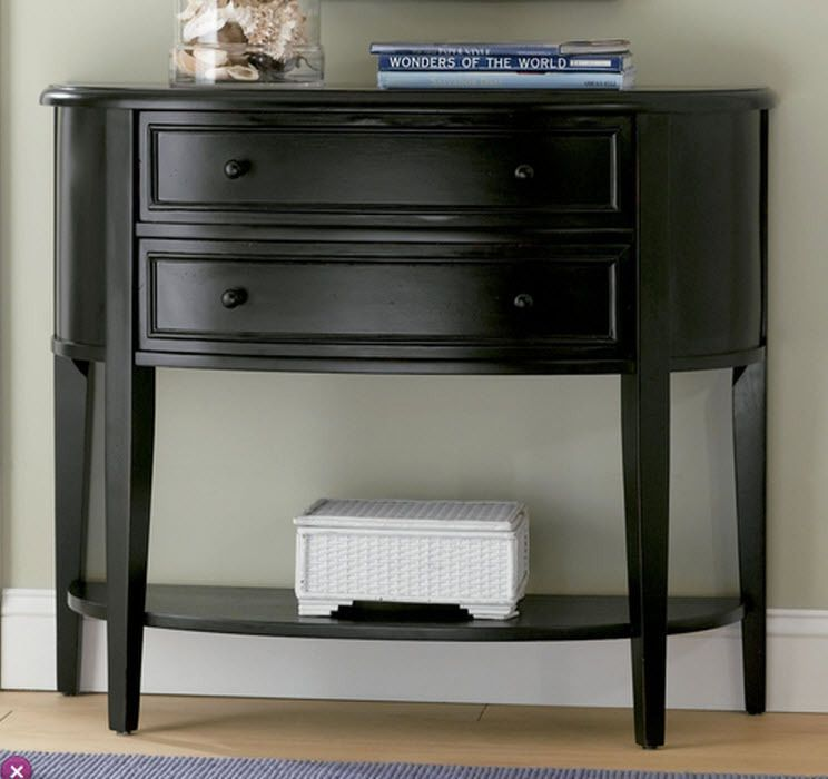 Find Everything But The Ordinary Black Console Table Powell Furniture Hallway Table Decor