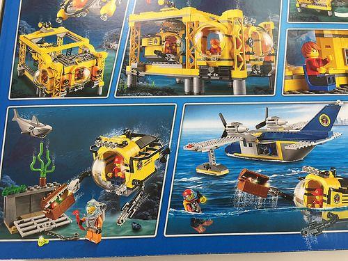 Lego City Deep Sea Operations Base 60096 Revealed By The Brick Show Lego City Brick Show Lego