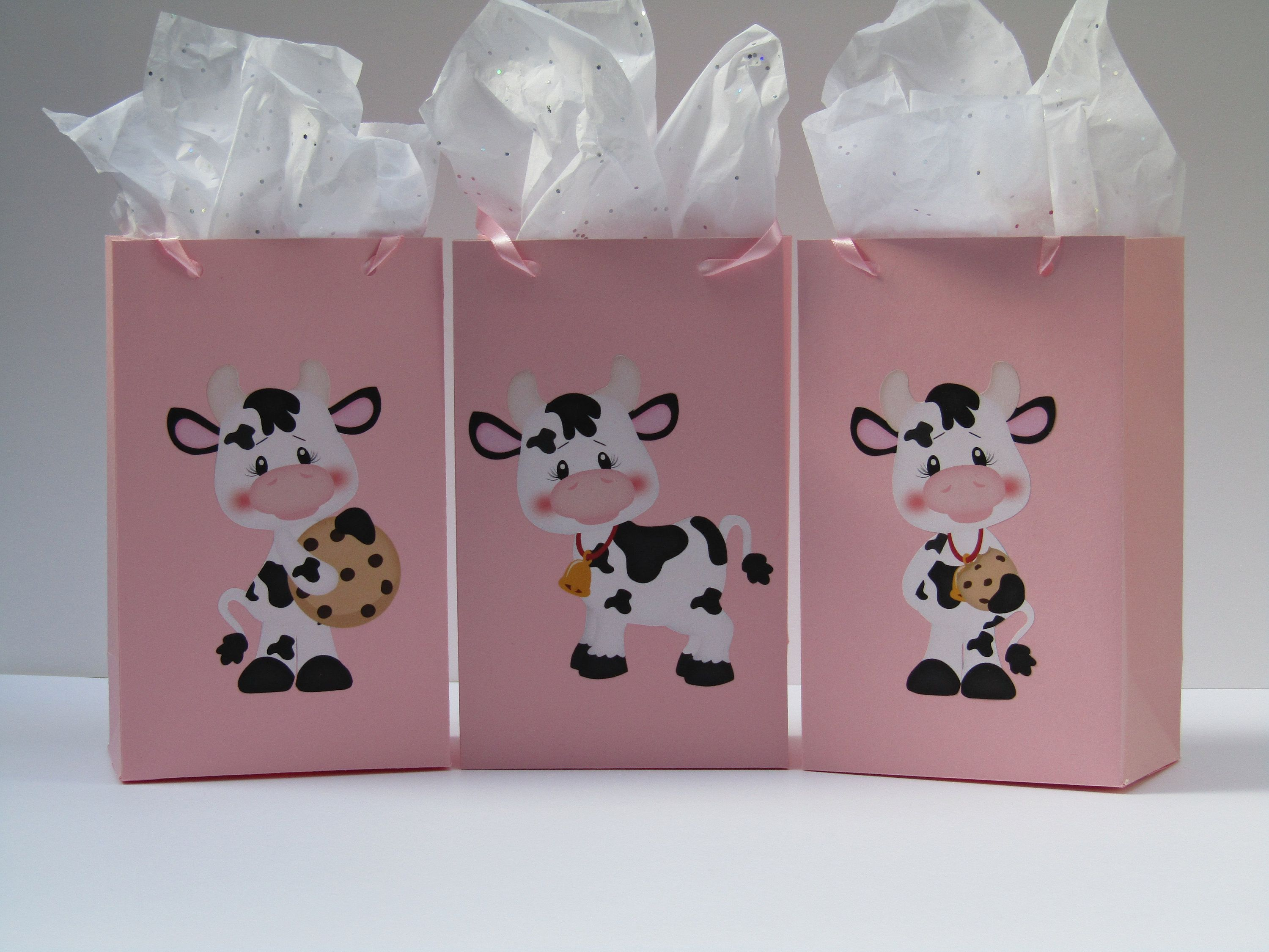first birthday Pink and Gold favor bag 7 14  X 3 14 X 2 8 SMALL paper bags pink gift bag party gold gift bag goodie bag