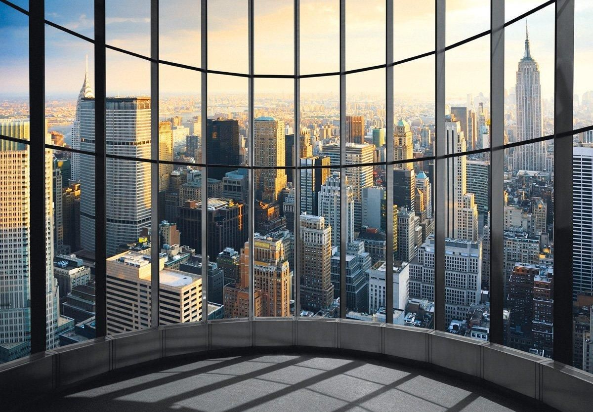 Fototapete New York Office View Fototapete New York Fototapete Tapeten