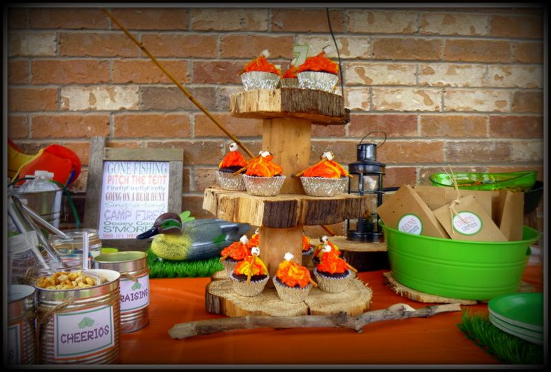 Pin by Ilia Grubbs on My Kiddies Parties Camping theme