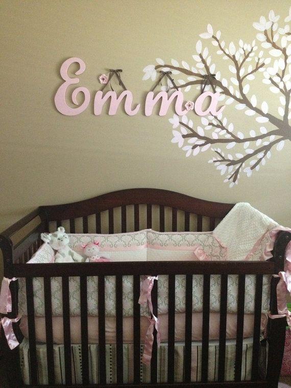Nora Girls Room Name Nursery Baby Kids Pretty Vinyl Wall Quote Sticker