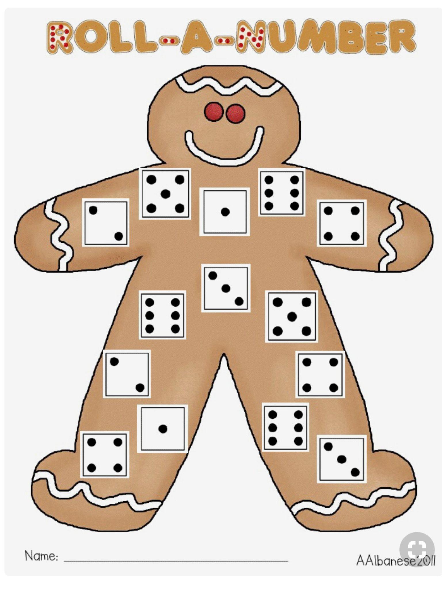 5 Gingerbread Worksheets For Preschool In