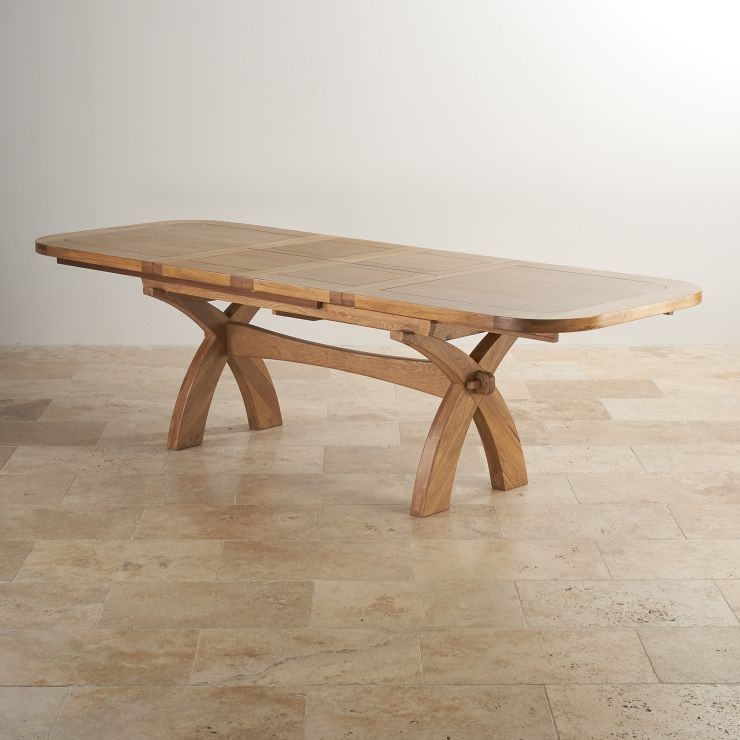 Natural Solid Oak Dining Tables 12 Seater Extendable Dining Table Hercules Natural Dining Range Oak Furnitureland Dining Table Extendable Dining Table Dining Table Legs
