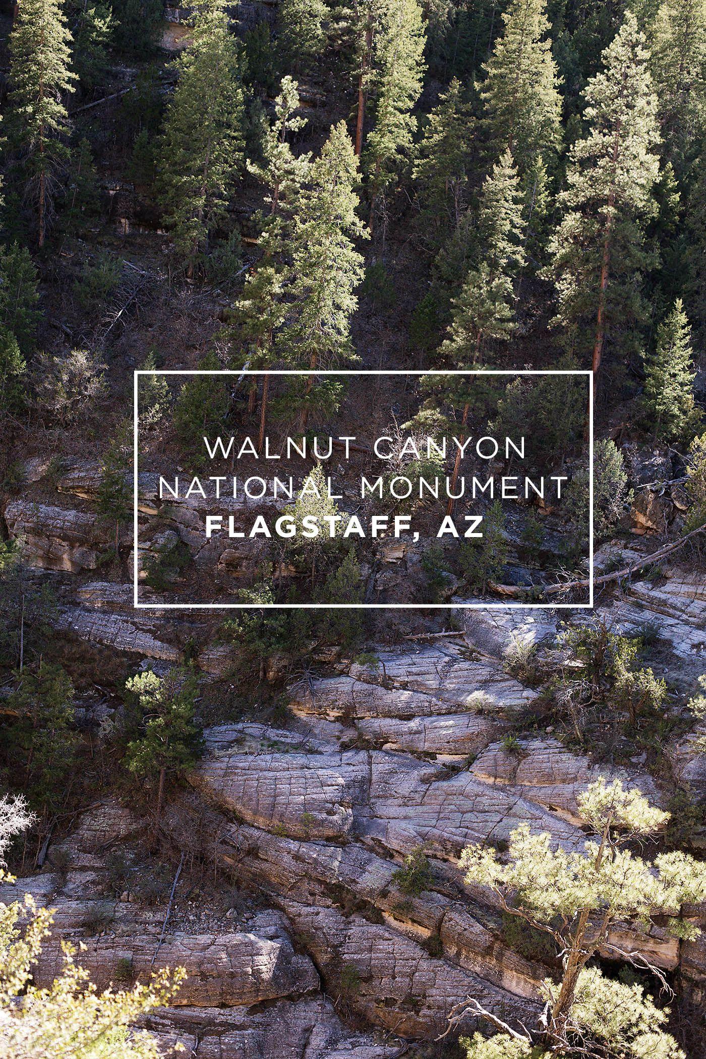 Arizona Travel Walnut Canyon National Monument Arizona Travel