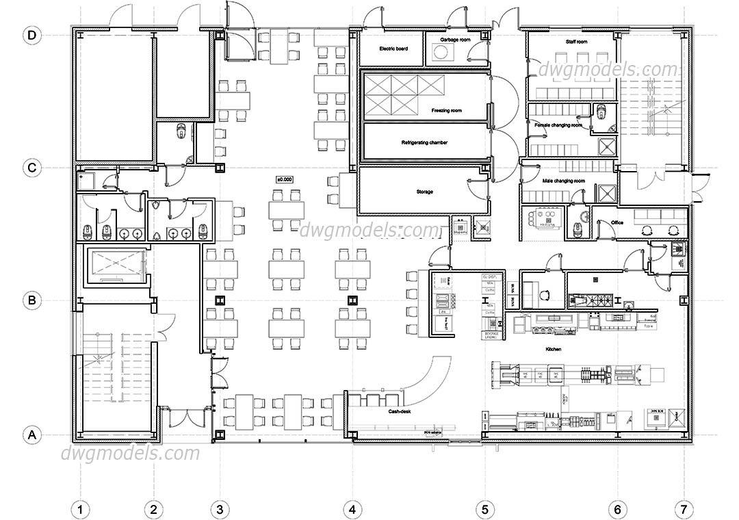Mcdonald S Restaurant Floor Plan Restaurant Plan Restaurant Flooring