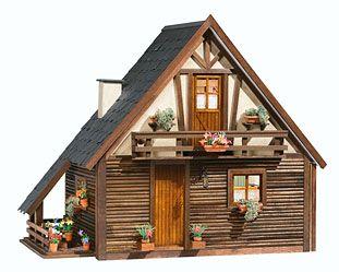 Arte y Arquitectura: casas de muñecas modernas