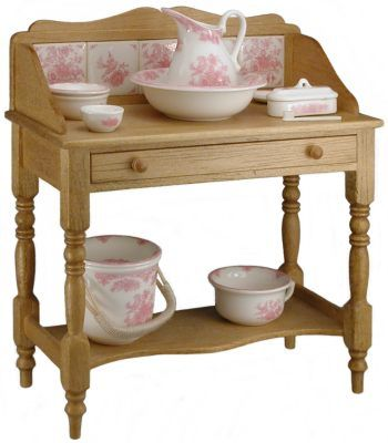 Persian Rose wash stand from Stokesay Ware