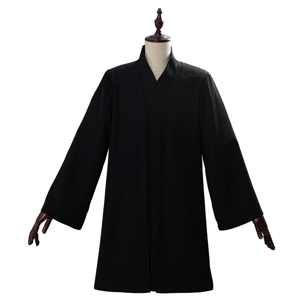 Harry Potter Lord Voldemort Black Uniform Cosplay Costume Custom Made