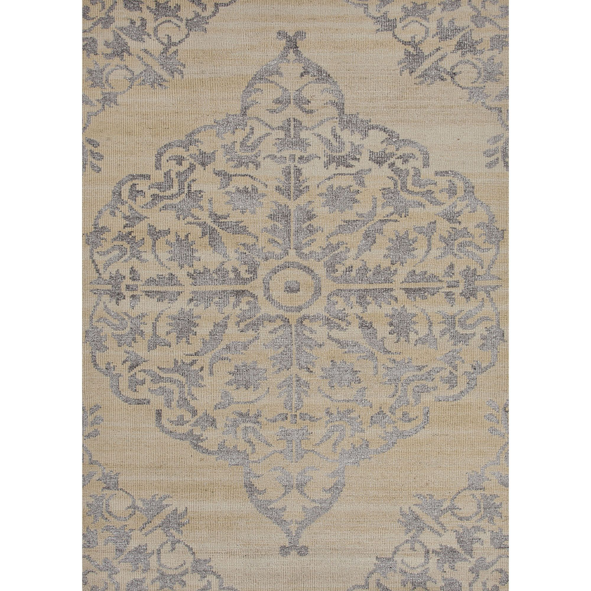Heritage Collection Chantilly Rug in Gardenia & Alabaster Gleam by Jaipur