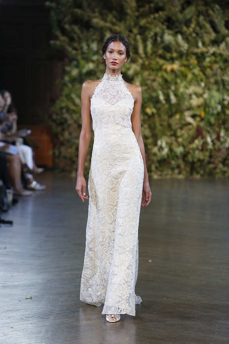 wedding dress trends you need to know highneck halters