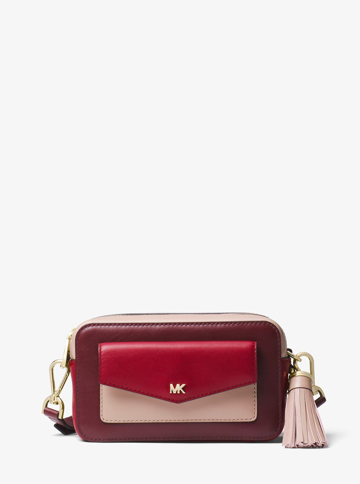 cddef07a762a Small Tri-Color Leather Camera Bag by Michael Kors | Products ...
