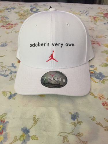 ed0a3de6bc90 Nike Air Jordan x Drake OVO October s Very Own Hat One Size White Red  872841 100