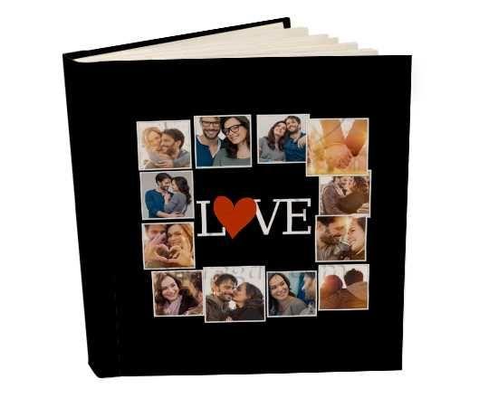 Album 26x30 con tasche Lovely collage