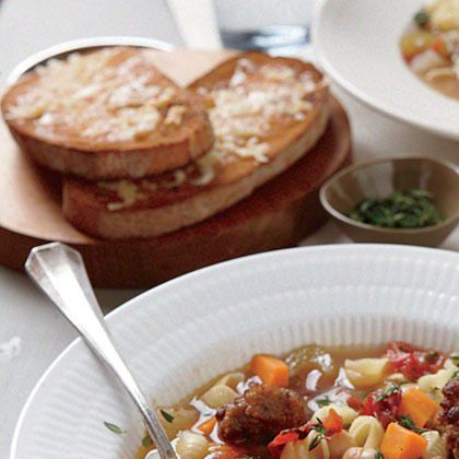Ciabatta Parmesan Toasts by Cooking Light