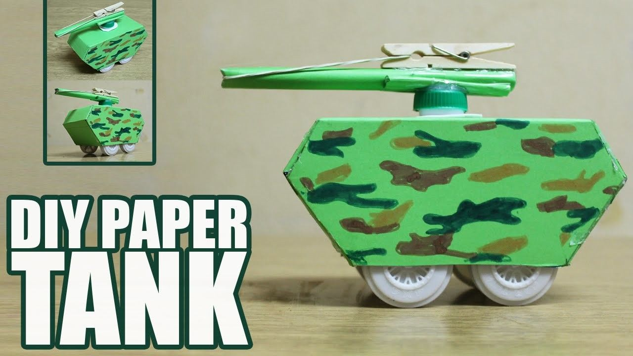 pics How to Make a Paper Tank