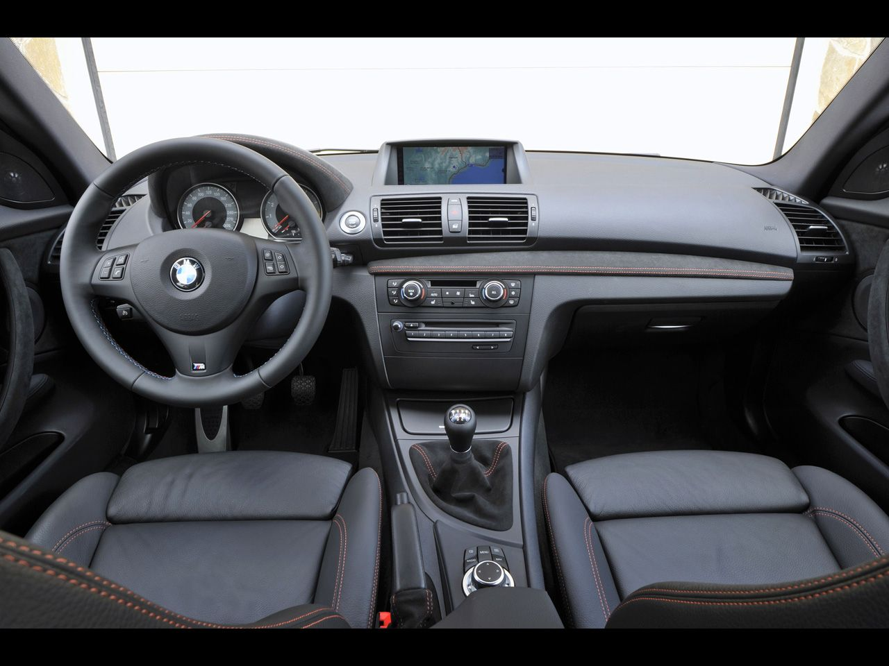 Bmw 1m Coupe Dash Interiores Auto