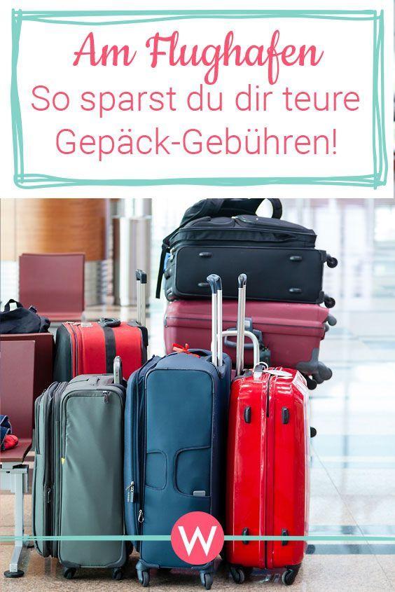 Neue GepäckGebühren am Flughafen So spart man bares Geld