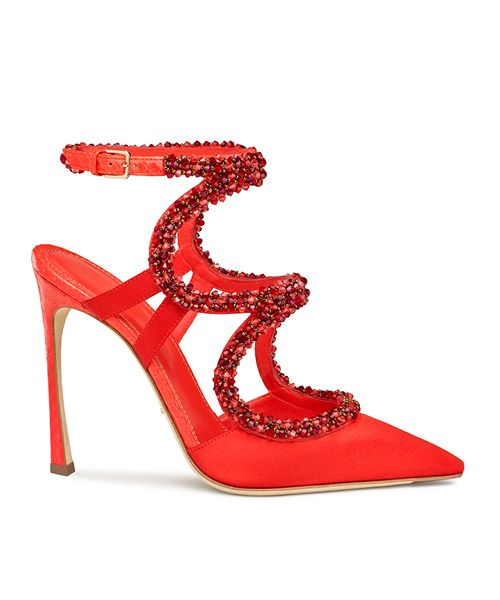 a67f5e2a18f53 shoes sergio rossi red - Google Search. Find this Pin and more on A shoes  heels embellished rhinestone jewelled sandals ...