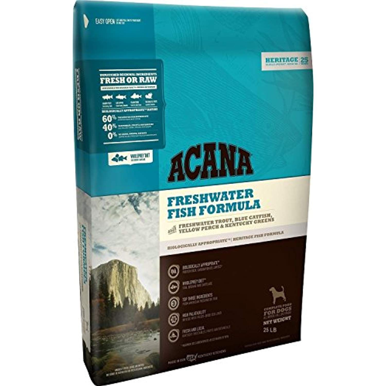 Orijen Acana Heritage Freshwater Fish Dog Food 25 Lb Check Out