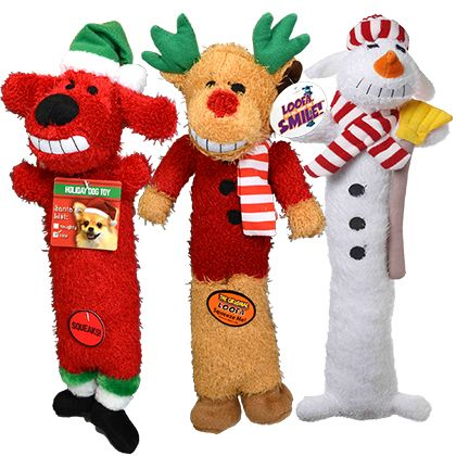 Multipet Loofa Holiday Dog Toys Free Shipping Over 49
