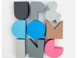 pretty palette of paper type by julia guther