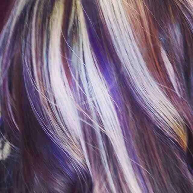 Pin By Kelsey Marsh On Hair Pinterest Hair Purple Hair And