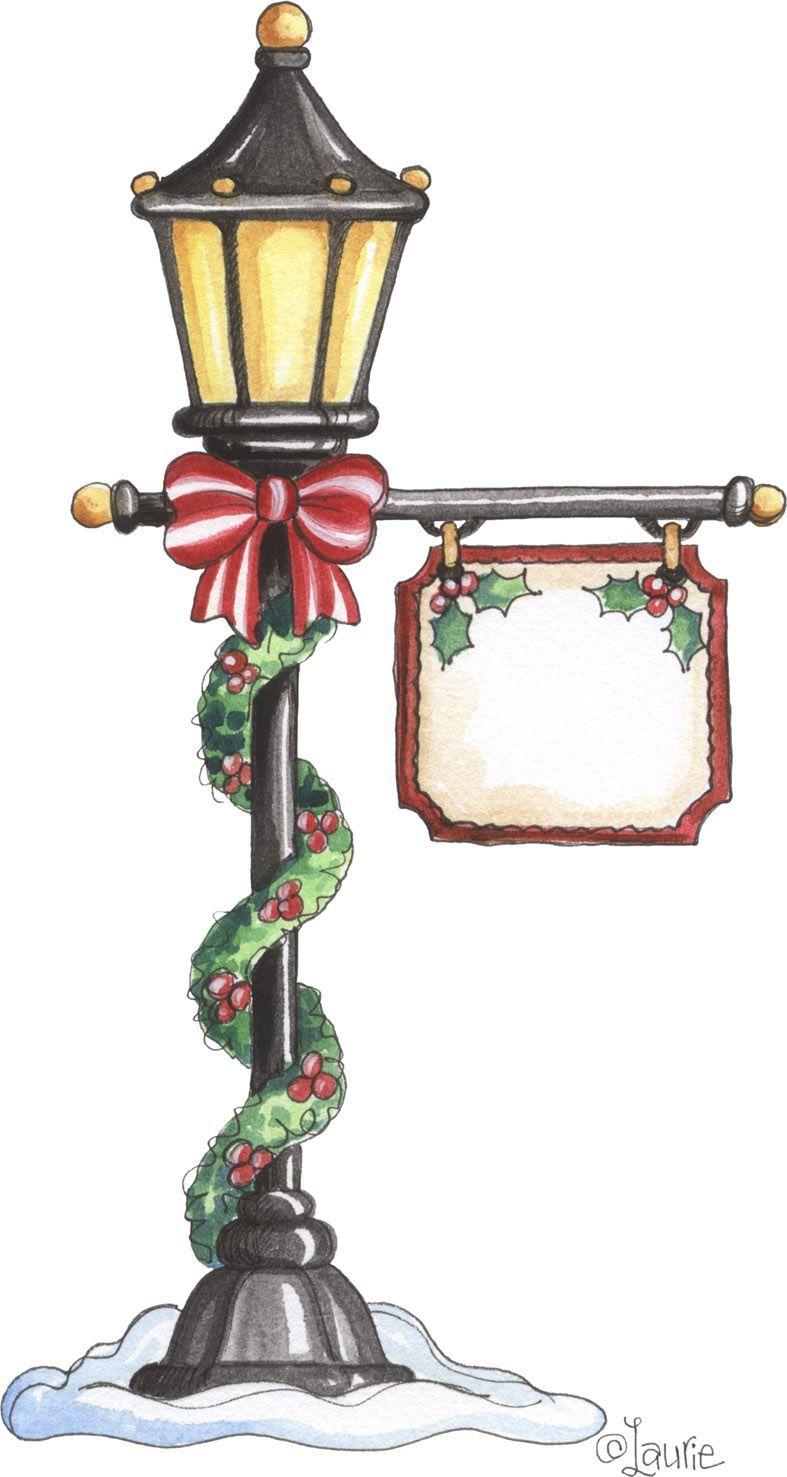 christmas illustrations una farola coqueta abstenerse perros xmas crafts pinterest. Black Bedroom Furniture Sets. Home Design Ideas