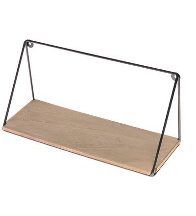 14,90 EUR | • Materiaali: metalli ja mdf<BR>• Koko: 40x13,5x18 cm