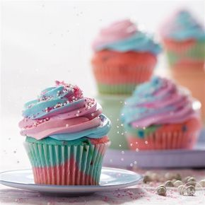 Our easy recipe for Unicorn Cupcakes will make your next birthday