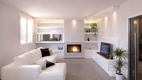 Idee pareti soggiorno in cartongesso casa pareti for Idee cartongesso soggiorno