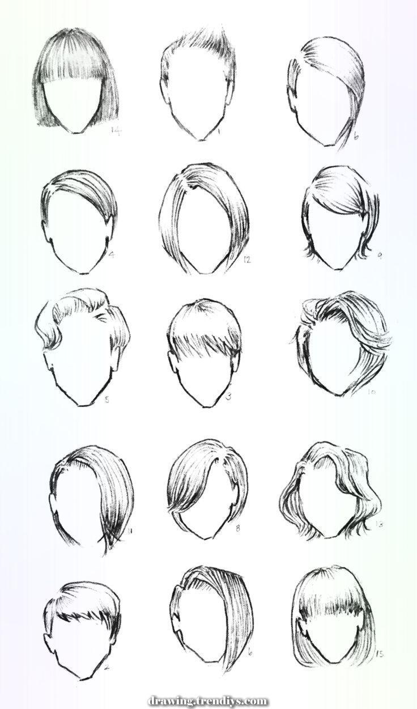 Photo of Schönes Design Frisuren für Ihre Charaktere # Zeichen # Zeichnung # Frisuren -…,  #Charakte…