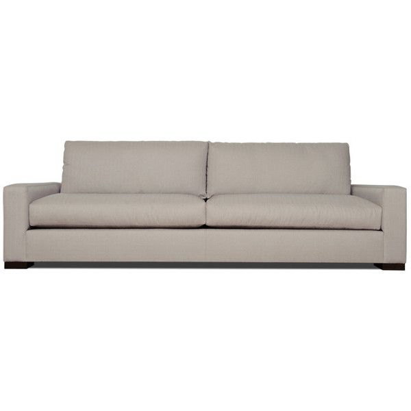 Leather Sofa Thrive Sullivan Loveseat CAD liked on Polyvore featuring home furniture