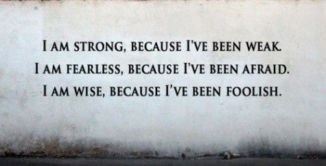 Strong, Fearless, Wise.