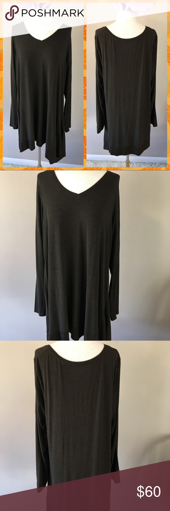 🍁Eileen Fisher Brown Sweater🍂 | Eileen fisher, Fisher and Tunics