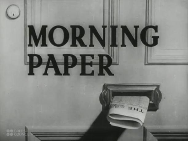 Así se hacía un periódico durante la Segunda Guerra Mundial. Encontramos una joya audiovisual en el blog Reportr.net. El Consejo Británico publicó un valioso video sobre la producción de noticias en The Times en los 40, época en la que se desarrollaba la Segunda Guerra Mundial y en que el Reino Unido fue bombardeado por la Alemania nazi.