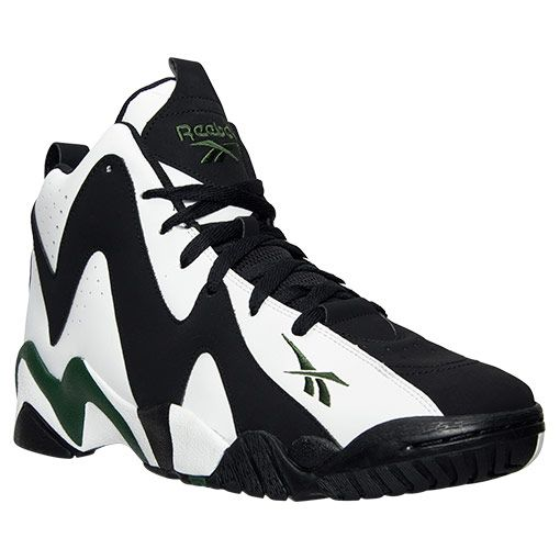 2dca2c4373c Throwback Shawn Kemp Kamikazes 2016 for  115 Men s Reebok Kamikaze II Mid  Retro Basketball Shoes - V44404 WBG