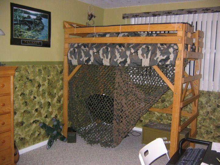 Camo bedroom kids room ideas pinterest army room for Camo kids room