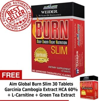 Aim Global Burn Slim 60 Tablets How To Increase Energy Aim