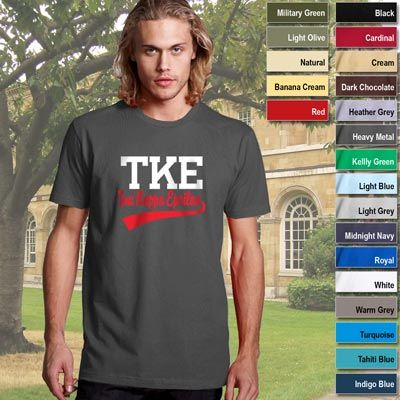 e9e1d96e Fraternity Baseball Design Printed T-Shirt #Fraternity #Greek #Clothing