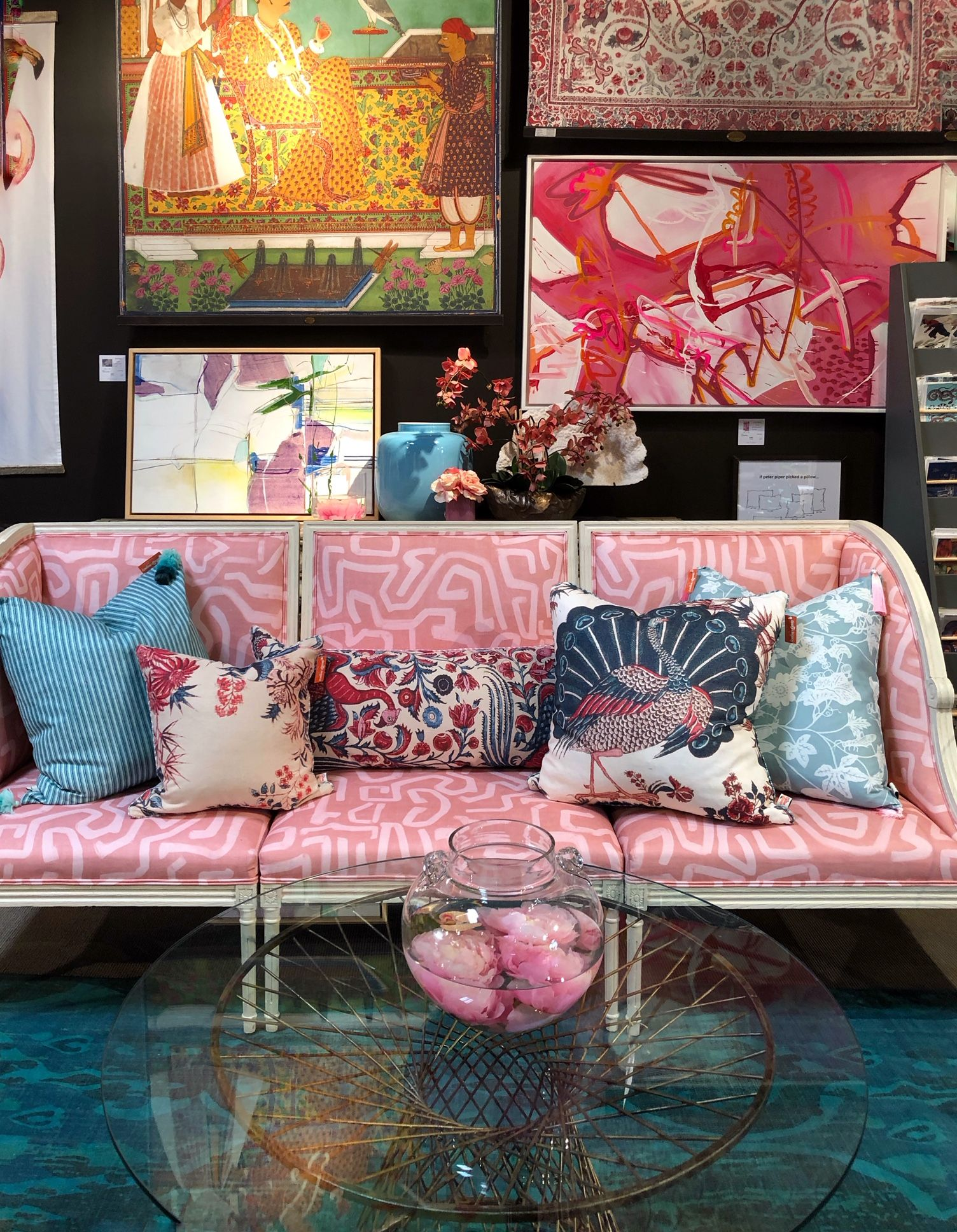 Color And Design Trends From Spring 2019 High Point Market Part One Interior Design High Point Furniture Market Furniture Design