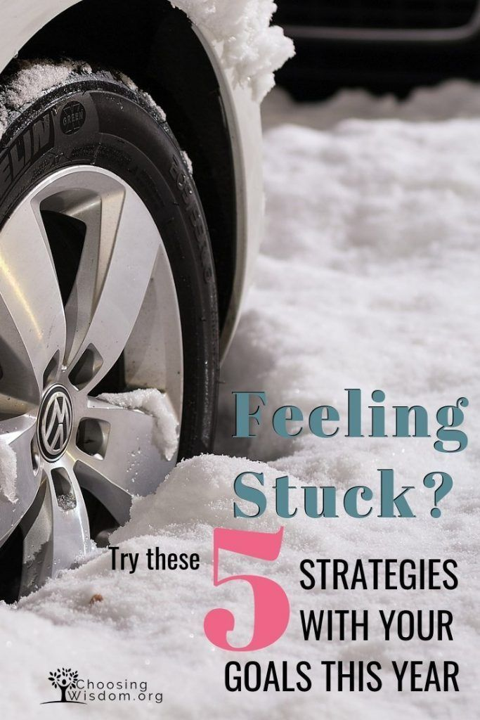 Do you get stuck each time you try to set a new goal Click here to learn 5 strategies to get you unstuck from your goals this year