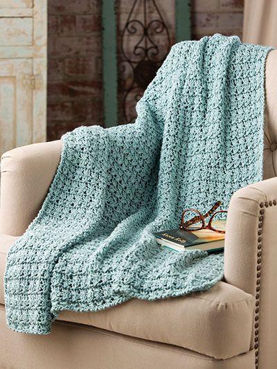 Cross Ties Lap Robe Crochet Pattern Download From E
