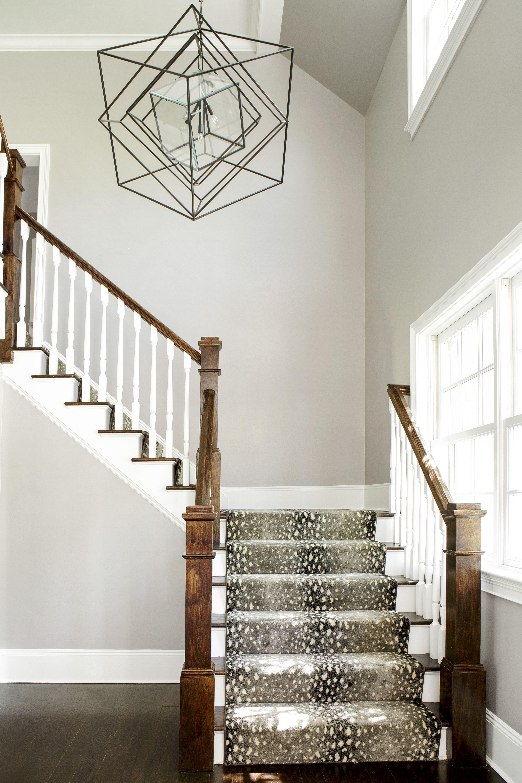 Best Bright Foyer With Animal Print Carpet On Wrap Around 400 x 300