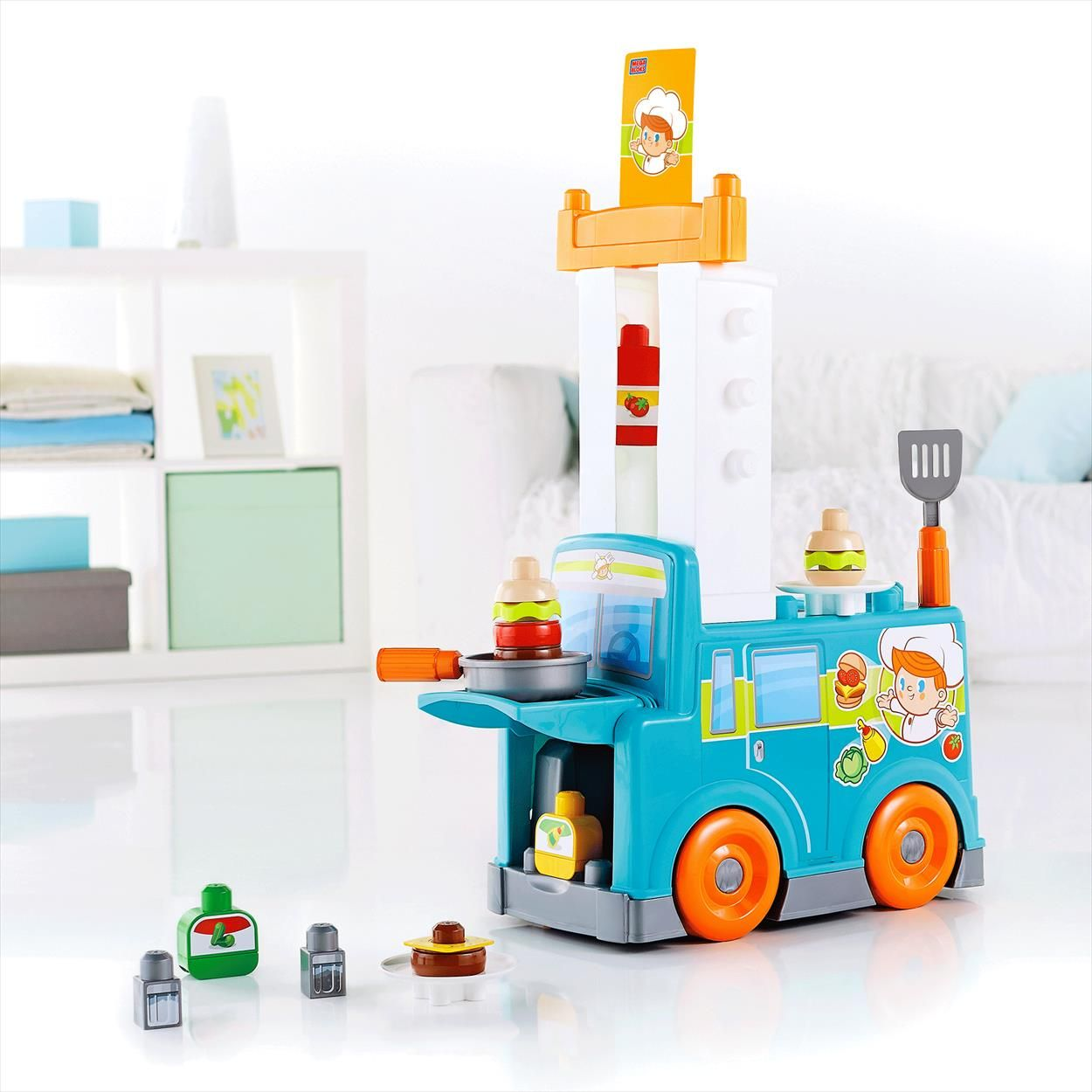 MEGA BLOKS® Food Truck Kitchen | Baby boys | Pinterest | Fisher price