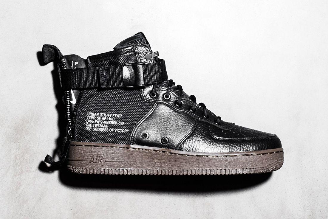 3ba617d4e8 NIKE'S SF AF-1, Nike's Urban Utility Footwear newcomer looks badass ...